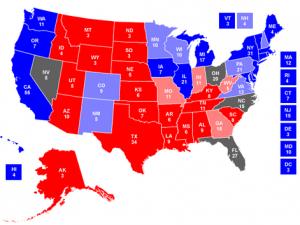 Elezioni Usa - proiezione del 4 novembre