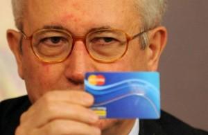 Giulio Tremonti e la Social Card