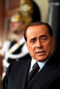 Silvio Berlusconi nel 2008