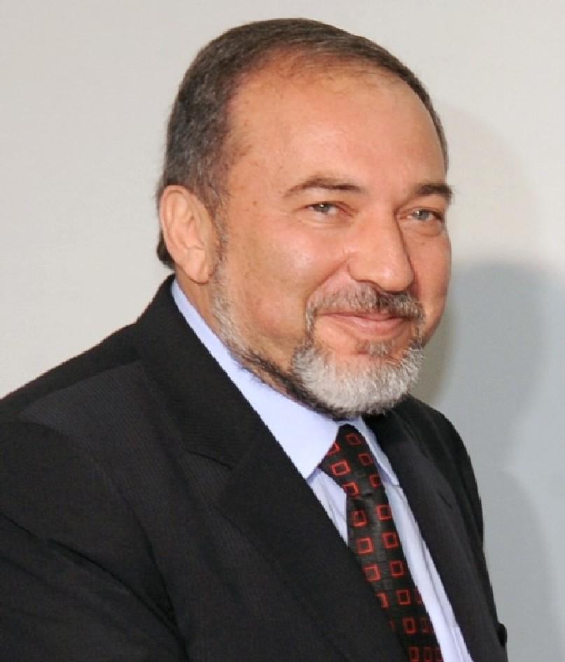 Il politico Avigdor Lieberman