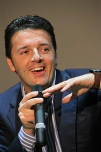 Matteo Renzi, candidato alle primarie