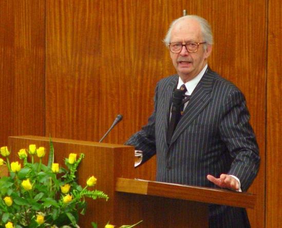 Il politologo Ralf Dahrendorf