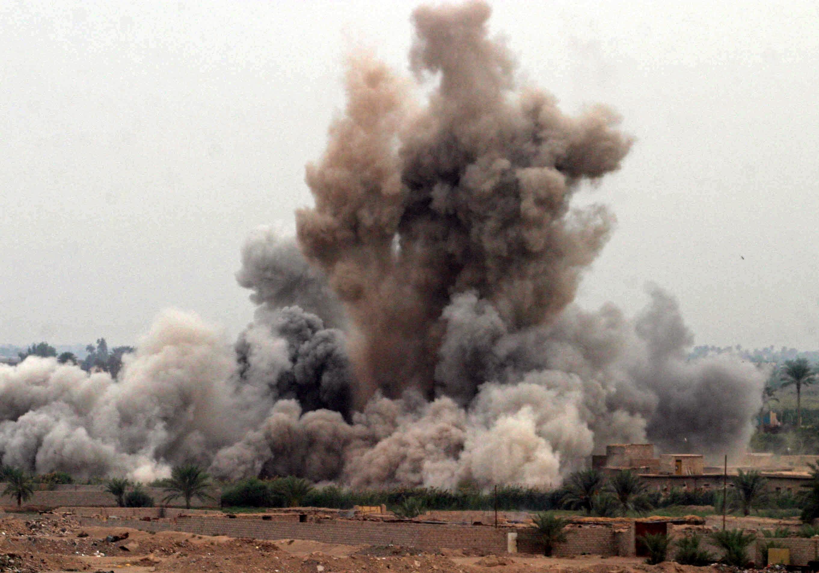 Bomba a Falluya, Iraq