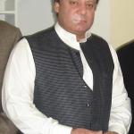Il politico indiano Nawaz Sharif
