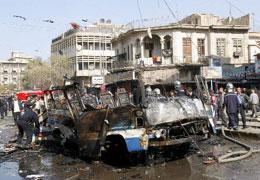 un attentanto in Iraq