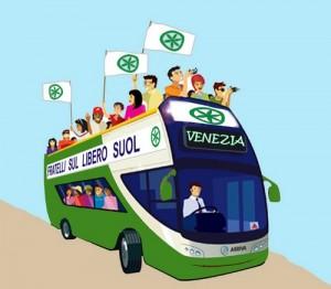 discorso di bossi a venezia