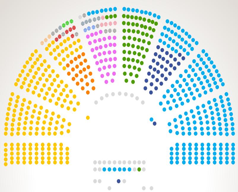 La maggioranza pi forte termometro politico for Deputati parlamento