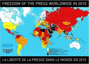 La libertà di stampa in Italia secondo RSF