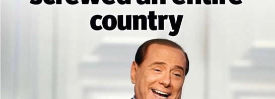 copertina economist berlusconi