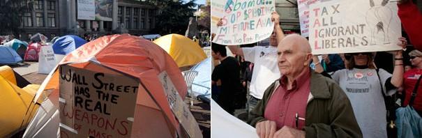 Indignados, Tea Party, Occupy