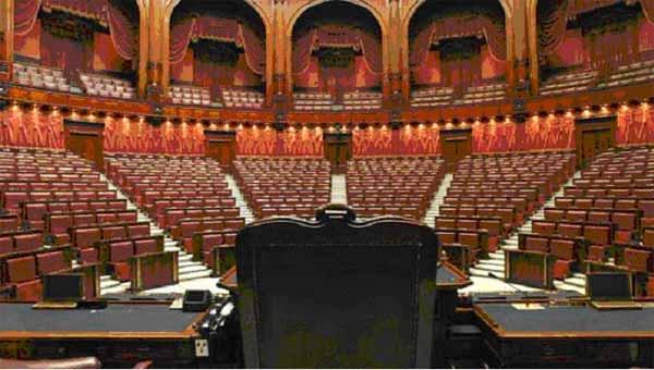 Tutta la camera minuto per minuto il voto di fiducia for Camera dei deputati diretta tv