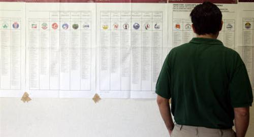 preferenze partiti liste