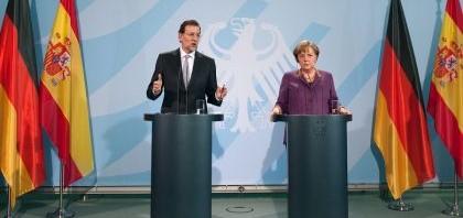 Rajoy Merkel