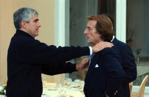 Casini e Montezemolo