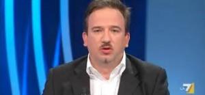 Il giornalista Luca Telese