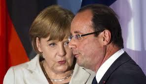 Merkel Hollande vicini alla rottura