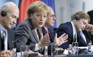 la politica Angela Merkel