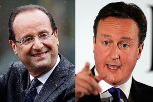 hollande cameron e lo spread