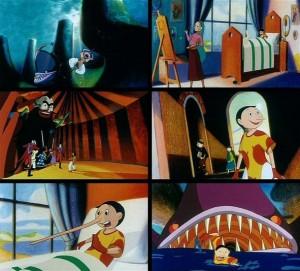 Il Pinocchio disegnato da Mattotti per Enzo D'Alò