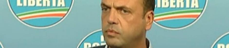 Angelino Alfano intervista post elezioni Sicilia