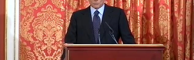 Berlusconi a villa Gernetto