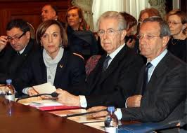 fact checking governo monti