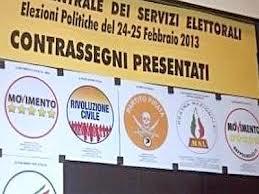 liste elettorali politiche 2013