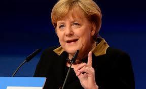 Merkel Stoccarda cambia colore