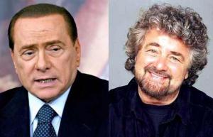 M5S Grillo: �Berlusconi cavaliere del ca��