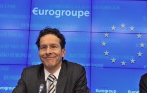 Il Presidente dell'Eurogruppo, l'olandese Jeroen Dijsselbloem