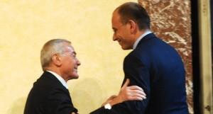 Enrico Letta fan di Berlusconi