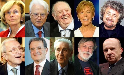 candidati presidente della repubblica movimento 5 stelle