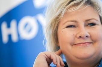 erna solberg elezioni norvegia
