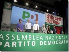 assemblea nazionale partito democratico roma