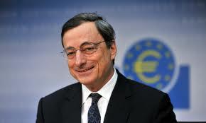 mario draghi europa banconota 5 euro