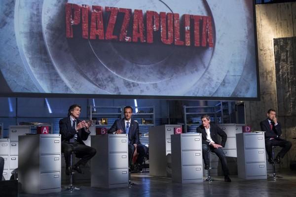 """La7 - A """"Piazzapulita"""" il confronto tra i candidati Sindaco di Roma"""