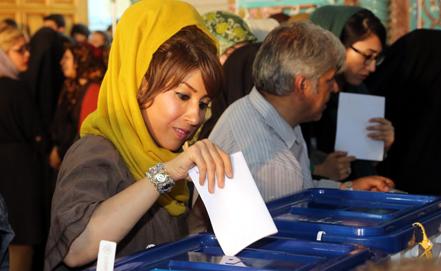 Iran al voto