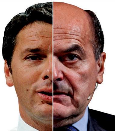 renzi bersani le quattro facce del pd congresso elezioni risultati