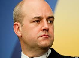 Fredrik Reinfeldt, leader dei Moderati e primo ministro della Svezia