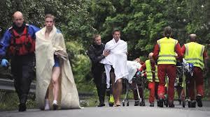 Un'immagine della strage del 22 luglio 2011, quando tra Oslo e Utøya furono uccise 77 persone