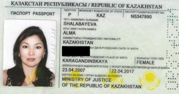 Caso Shalabayeva, Shalabayeva,