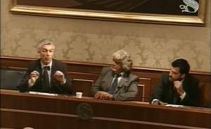 conferenza stampa incontro napolitano m5s