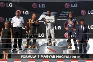 podio formula 1 gp ungheria