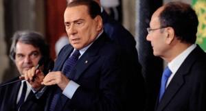 Berlusconi Brunetta Schifani