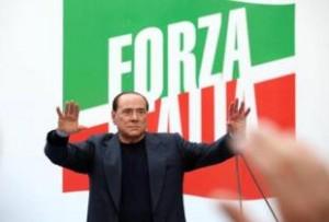 berlusconi forza italia roma 4 agosto 2013