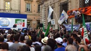 berlusconi pdl via del plebiscito roma 4 agosto 2013