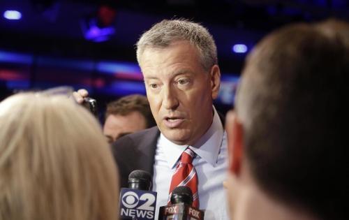 bill de blasio candidato sindaco new york