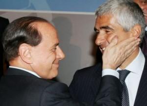 """Berlusconi a Casini """"Lieti suo ritorno"""""""