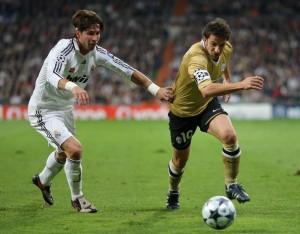 Alex Del Piero, man of the match nell'ultimo successo bianconero al Bernabeu