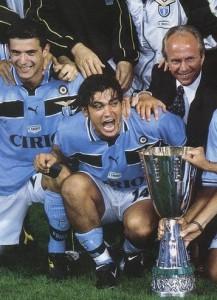 Sérgio Conceição, match winner nell'unico precedente in Supercoppa tra Juventus e Lazio (2-1 per i biancocelesti nel 1998)